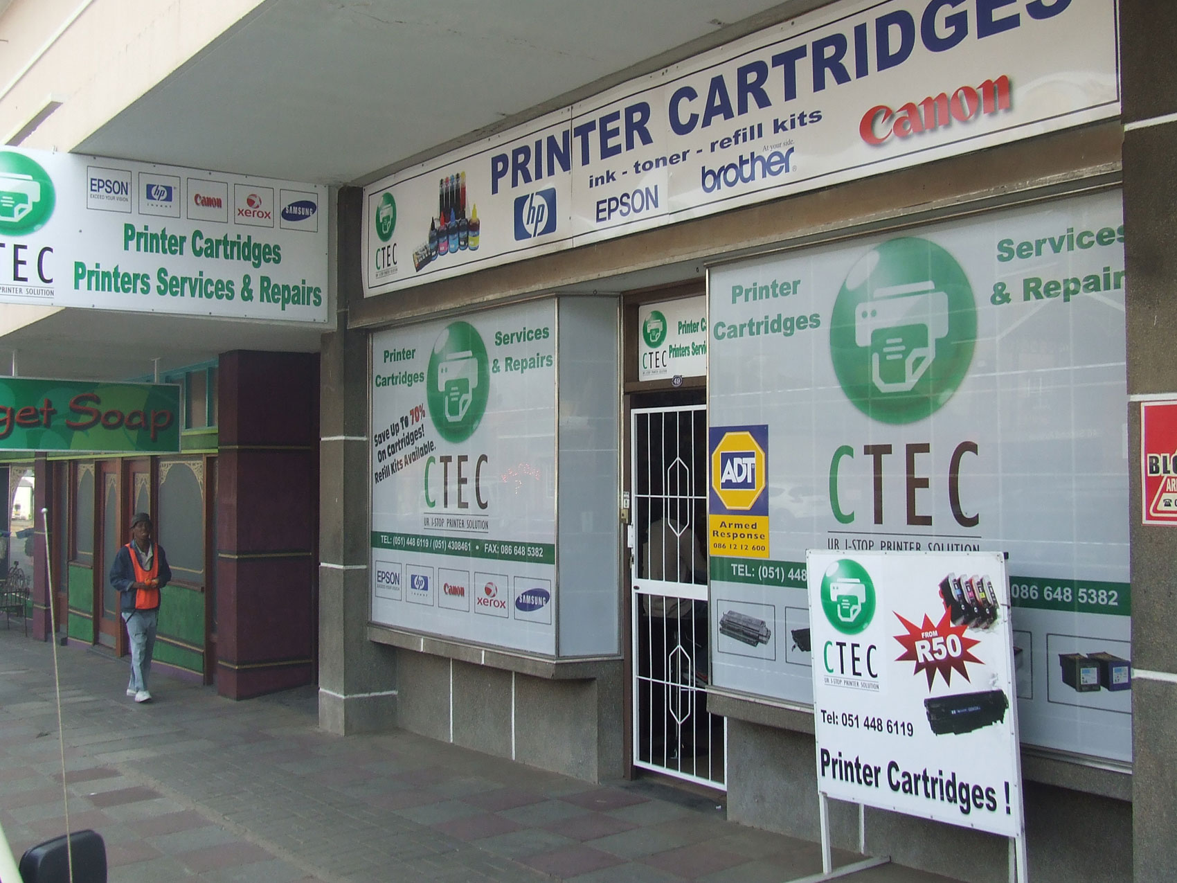 CTEC Bloemfontein. Printer Cartridge Supplier