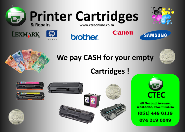 Buying Empty Printer Cartridges